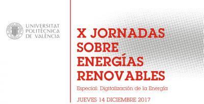 Programa X Jornada Energías Renovables