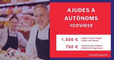 Medidas urgentes de apoyo económico y financiero para las personas autónomas para hacer frente al COVID-19.